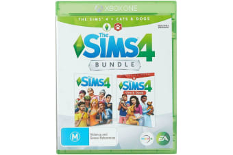 The Sims 4 Bundle w Cats & Dogs Xbox One Game - Disc Like New