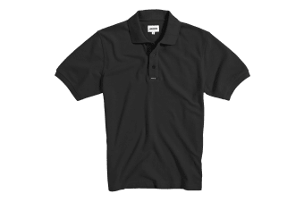 Musto Mens Classic Pique Short Sleeve Polo Shirt (Black)