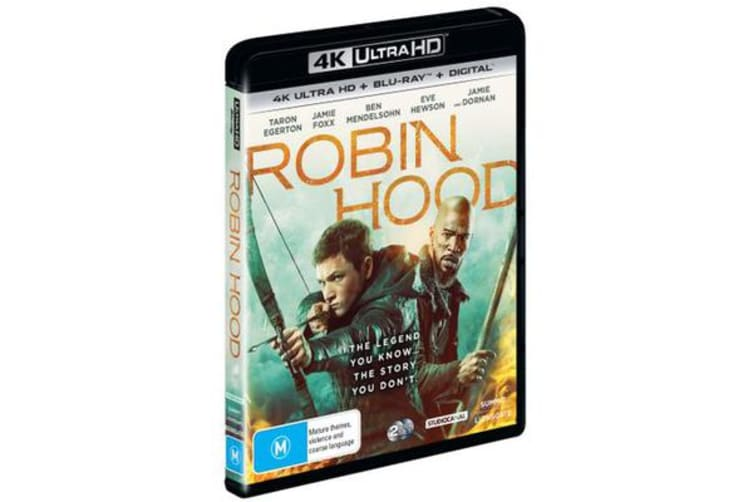 Robin Hood (2018) (4K UHD/Blu-ray/Digital Copy)