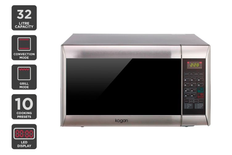 Dick Smith Kogan 32l Stainless Steel Convection