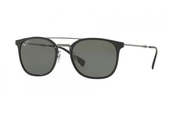 Ray-Ban RB4286 55mm - Black (Green Polarised lens) Unisex Sunglasses