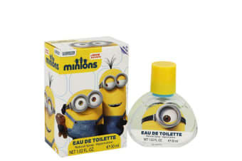 Minions Minions Yellow Eau De Toilette Spray 30ml/1.02oz