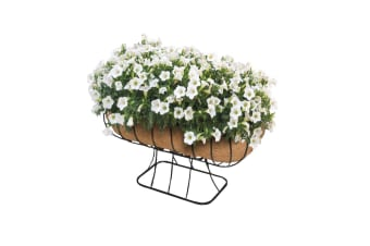 Ambassador Cradle Planter (Black/Brown)