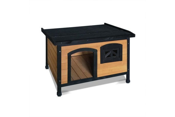 Large Pet Dog Kennel (Black)