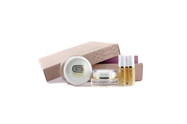 Sisley Anti-Age Prestige Kit: Sisleya Global Anti-Age Cream 50ml+Sisleya Eye & Lips Contour Cream 15ml+Sisleya Elixir  5ml x 2 (4pcs)