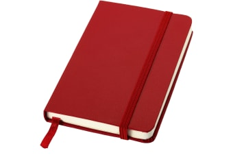 JournalBooks Classic Pocket A6 Notebook (Red)