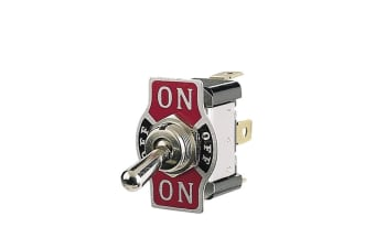 NARVA 60061BL ON OFF ON METAL TOGGLE SWITCH WITH TAB 20A 12V 20 AMP 12 VOLT NEW