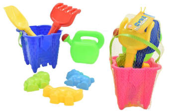 Bucket and Spade Castle Set in Yellow