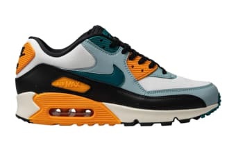Nike Men's Air Max 90 Essential Shoes (Essential Teal/Yellow/Black, Size 8 US)