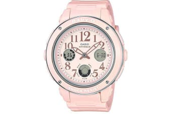 Casio Baby-G Female Pink Analogue/Digital Watch BGA150EF-4B BGA-150EF-4BDR
