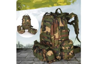 Hiking Rucksack Outdoor Backpack Bag CAMO