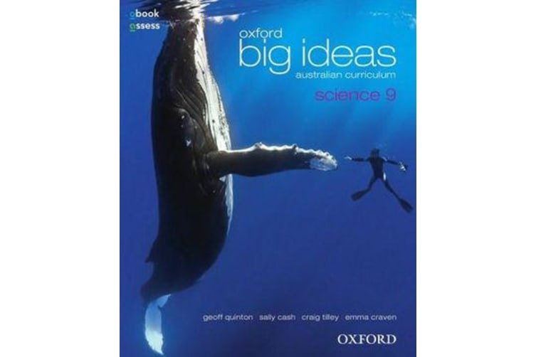 Oxford Big Ideas Science 9 Australian Curriculum Student book + obook assess