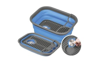 Companion Pop Up Dish Tray And Tub Blue