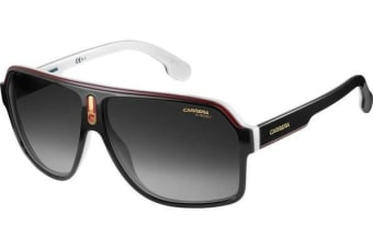 Carrera 1001/S 80S 62 90 Black Mens Womens Sunglasses
