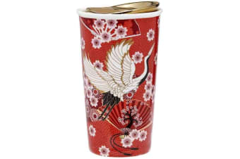 Ashdene Osaka Travel Mug Red
