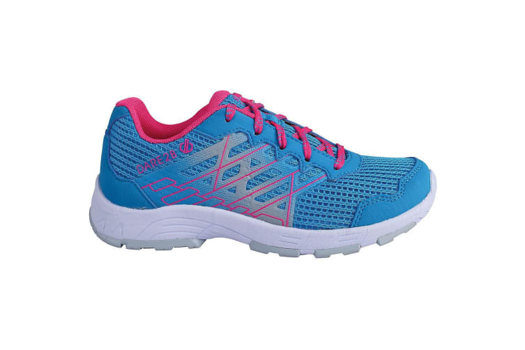 Dare 2B Childrens/Kids Razor Lightweight Trainers (Atlantic Blue/Cyber Pink) (1 UK)