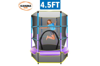 Kahuna Mini 4.5 ft Trampoline Blue Purple