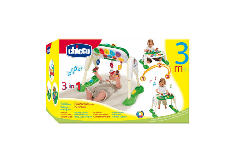 Chicco 3 in 1 Deluxe Activity Centre Play Floor Gym 3m+ Baby/Infant Toy w/ Music