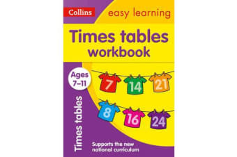 Times Tables Workbook Ages 7-11 - New Edition