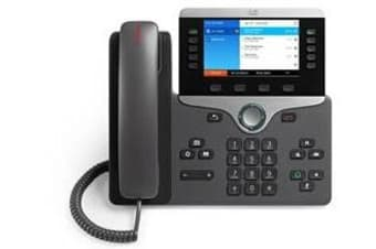 Cisco 8841 IP phone Charcoal Wired handset 5 lines