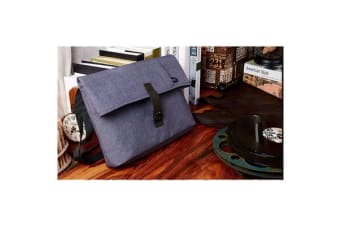 "Colour Pack Casual Series 15.6"" Notebook Laptop Folding Multi-Style Carry Bag ( Purplish Blue)"