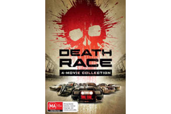 Death Race 4 Movie Collection Box Set DVD Region 4