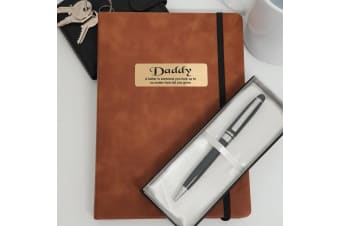Personalised 2020 DTP Diary with Pen - Dad