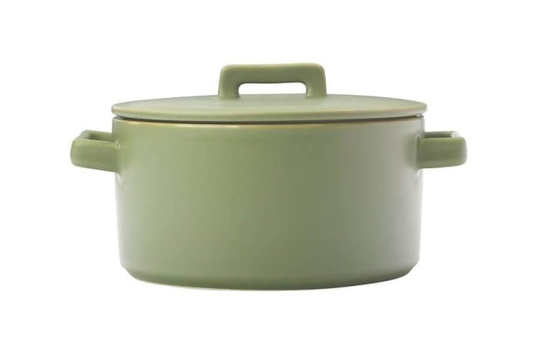 Maxwell & Williams Epicurious Round Casserole 1.3L Olive