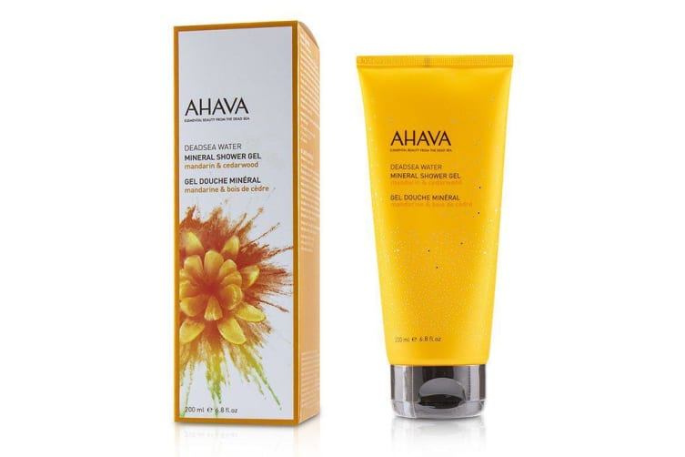 Ahava Deadsea Water Mineral Shower Gel - Mandarin & Cedarwood 200ml/6.8oz