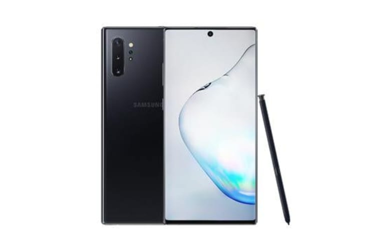 Brand New Samsung Galaxy Note 10+ Dual SIM 256GB 4G LTE Phone Black (12MTH AU WTY)