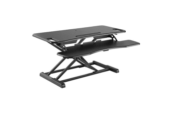 Brateck DWS06-02NBLK  Gas Spring Sit-Stand        Workstation. Height adjustable 110-505mm Work
