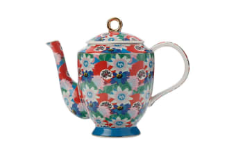 Maxwell & Williams Teas & C's Glastonbury Pot Porcelain 1L Teapot Passion Vine