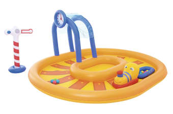 Interactive Kids Train Play Pool