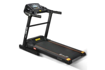 Home Electric 12 Speed Treadmill (Black)