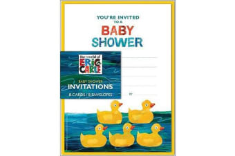 Eric Carle - Baby Shower Invitations