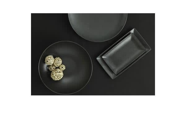 Maxwell & Williams Caviar Rectangular Platter 35x20cm Black