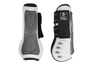 Majyk Equipe Horse Series 3 Infinity Tendon Boot (White Pearl)