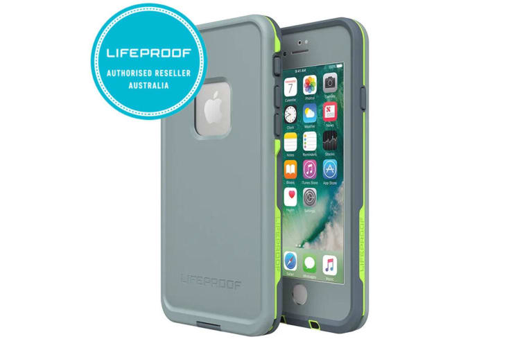 Lifeproof Fre Live 360 Waterproof Case/Phone Cover for Apple iPhone 7/8 Grey/GRN