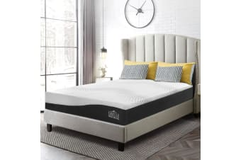 Giselle Bedding 25 CM Hybrid Mattress Cool Gel Bamboo Charcoal Memory Foam Pocket Spring