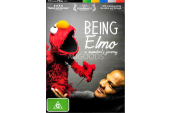 BEING ELMO: A PUPPETEER'S JOURNEY - Region 4 Rare- Aus Stock DVD NEW