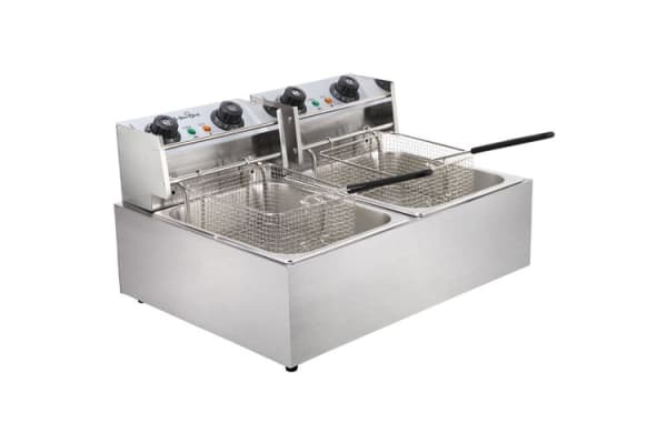 5 Star Chef Deep Fryer with Twin Basket