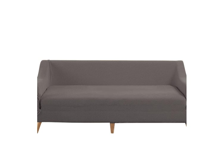 Dreamz Couch Stretch Sofa Lounge Cover Protector Slipcover 4 Seater Chocolate AU