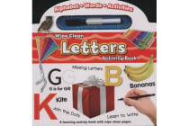 Wipe Clean Activity Book - Letters