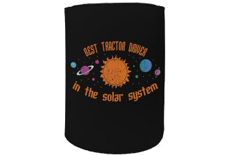 123t Stubby Holder - best tractor driver solar system - Funny Novelty