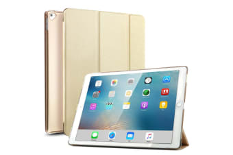 For iPad Pro 12.9 Inch 2017 PU Leather Case Cover For iPad Pro-Gold