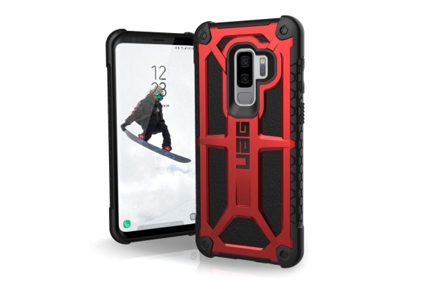 UAG Monarch Case for Galaxy S9 Plus (Crimson)