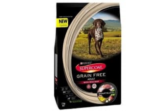 Purina Supercoat Adult Grain Free Beef Smartblend - 2.5kg