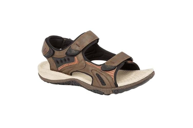 PDQ Mens Superlight Sports Sandals (Dark Brown) (12 UK)