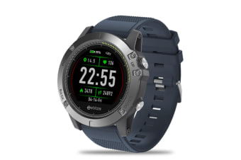 Select Mall Rugged Inside Out HR Monitor 3D UI All-day Activity Record 1.22Inch Smart Waterproof Watch-Blue