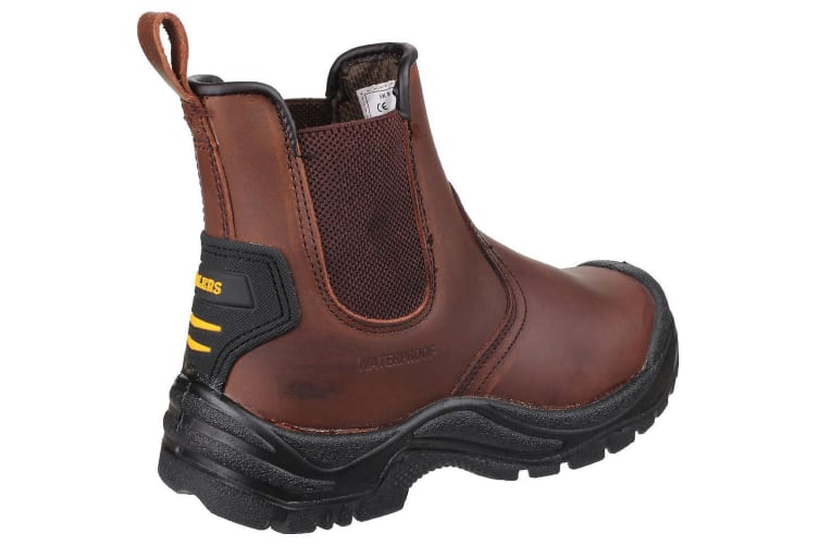 Amblers Safety Mens AS200 Skiddaw Pull On Dealer Boots (Brown) (8 UK)